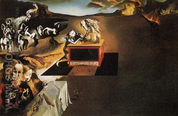The Invention of Monsters 1937 - Salvador Dali reproduction oil painting