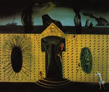 Tristan Fou c1938 - Salvador Dali reproduction oil painting