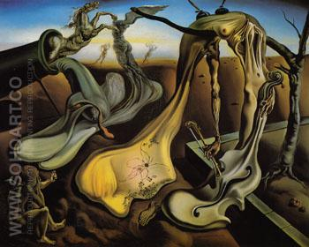 Daddy Longlegs of the Evening Hope 1940 - Salvador Dali reproduction oil painting