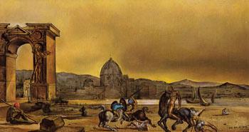 Autumn Sonata 1945 - Salvador Dali reproduction oil painting