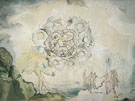Cosmic Contemplation 1951 - Salvador Dali