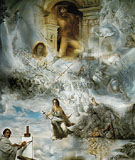 The Ecumenical Council 1960 - Salvador Dali reproduction oil painting