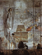 The Discovery of America by Christopher Columbus I c1958 - Salvador Dali