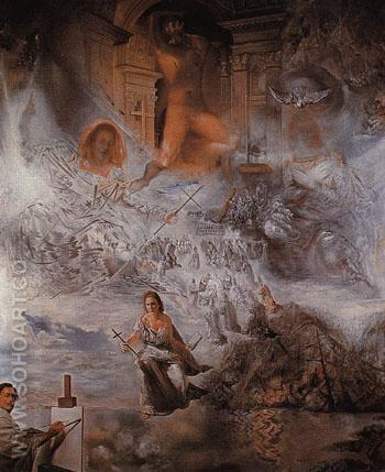 The Ecumenical I - Salvador Dali reproduction oil painting
