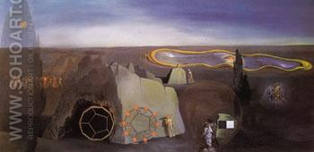 Searching for the Fourth Dimension 1979 - Salvador Dali reproduction oil painting