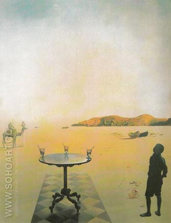 Sun Table 1936 - Salvador Dali reproduction oil painting