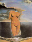 Rhinoceros Gooseflesh 1956 - Salvador Dali reproduction oil painting