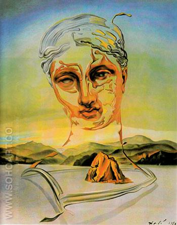 Birth of a Divinity 1960 - Salvador Dali reproduction oil painting