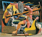 The Gladiators 1938 - Philip Guston