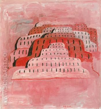 The City 1969 - Philip Guston reproduction oil painting