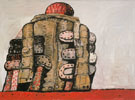 Back View 1977 - Philip Guston