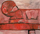 Head and Table 1975 - Philip Guston