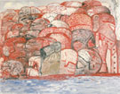 Groop in Sea 1979 - Philip Guston