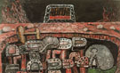 Pit 1976 - Philip Guston reproduction oil painting