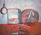 The Magnet 1975 - Philip Guston