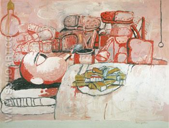 Painting Soking Eating 1973 - Philip Guston reproduction oil painting