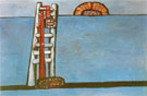 Ladder 1976 - Philip Guston
