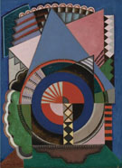 Composition 1920 - Auguste Herbin