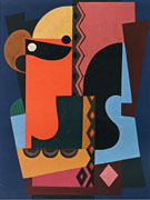 Composition 1921 - Auguste Herbin