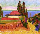 Corsican Landscape 1907 - Auguste Herbin