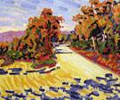 Corsican Landscape A 1907 - Auguste Herbin