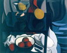 Nature Morte Aux Fruits 1937 - Auguste Herbin