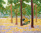 Park in Paris 1904 - Auguste Herbin