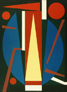Germe 1954 - Auguste Herbin