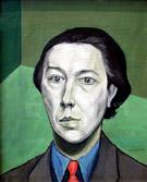 Portrait of Andre Breton 1934 - Victor Brauner