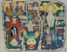 Tableau Autobiographique Ultratableau Biosensible 1948 - Victor Brauner
