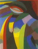 Composition 1919 - Otto Freundlich reproduction oil painting