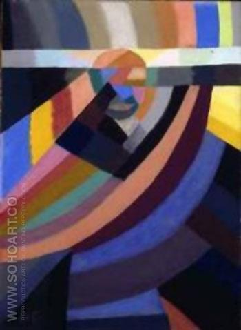 Composition 1924 - Otto Freundlich reproduction oil painting