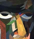 Head Self Portrait 1923 - Otto Freundlich