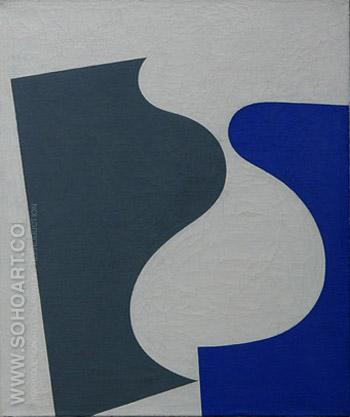 Untitled - Sophie Taeuber Arp reproduction oil painting