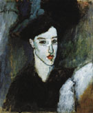 The Jewess c1908 - Amedeo Modigliani