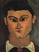 Portrait of Moise Kisling 1915 - Amedeo Modigliani