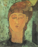 The Fat Child LEnfant Gras 1915 - Amedeo Modigliani reproduction oil painting