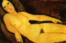 Nude on a Divan 1918 - Amedeo Modigliani