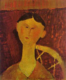 Portrait of Beatrice Hastings 1915 - Amedeo Modigliani