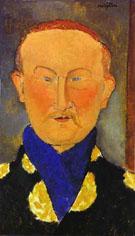 Portrait of Leon Bakst 1917 - Amedeo Modigliani