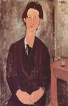 Portrait of Chaim Soutine 1916 - Amedeo Modigliani