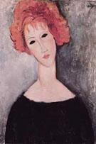 Redhead - Amedeo Modigliani