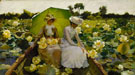 Lotus Lilies 1888 - Charles Courtney Curran