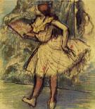 Dancer with Fan c1897 - Edgar Degas