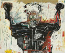 Untitled Boxer - Jean-Michel-Basquiat