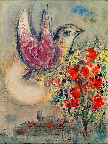 Night of Venice - Marc Chagall reproduction oil painting
