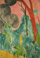 Periwinkles Moroccan Garden 1912 - Henri Matisse