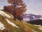 Autumn in the Mountains 1934 - Ernest L Blumenschein