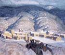 Sangre de Cristo Mountains - Ernest L Blumenschein