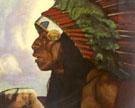 Taos Indian Cheif - Ernest L Blumenschein